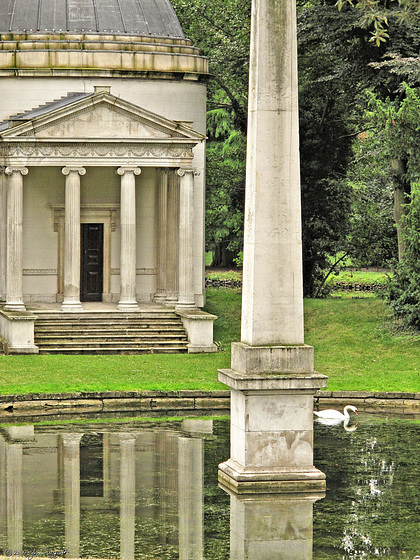 Ionic Temple, Chiswick House, London