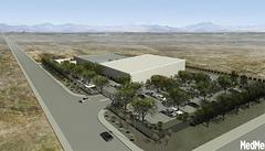MedMen cultivation facility aerial view