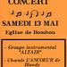 Concert à Bombon le 13 mai 2000