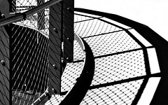 Circular fence shadow - HFF