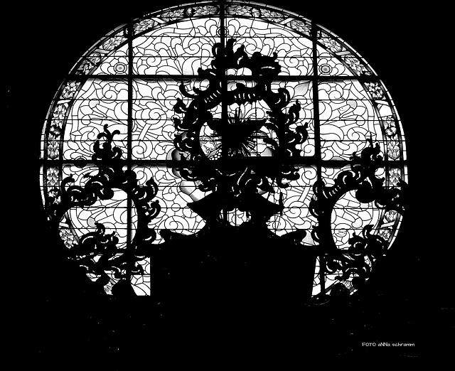 Fenster im Dom zu Brixen