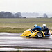 Thruxton 1984 - 8d Sidecar racing in the rain