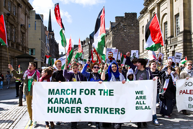 Protest March, Edinburgh
