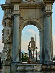 La fontana dell'Immacolatella