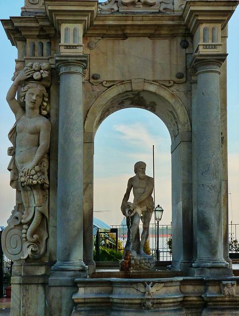 La fontana dell'Immacolatella (361)