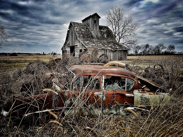 rust and ruin....