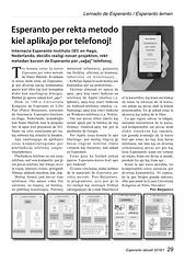 Nova kurso de Esperanto por saĝaj telefonoj