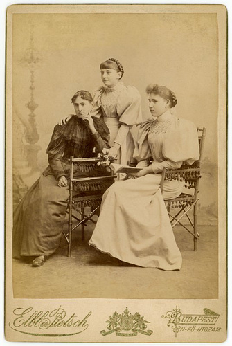 Mother and Daughters, Budapest, Hungary