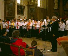 Concert à Blandy-les-Tours le 30 janvier 2000