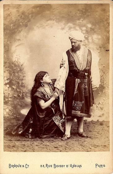 Jean Lassalle & Marie Gabrielle Krauss by Benque