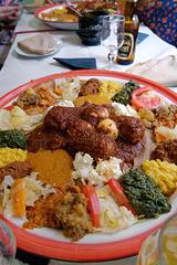 Restaurant éthiopien à Paris
