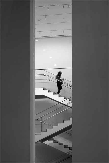 Stairs at the MoMa