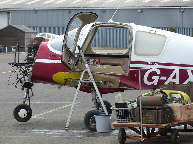 G-AXSD at Turweston (1) - 22 March 2016