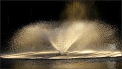 Le jet d'eau