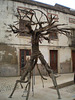 Metaphor of the tied body.