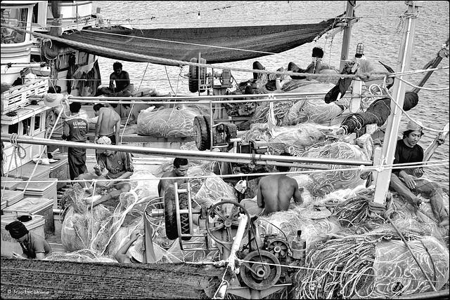 Les forçats de la mer