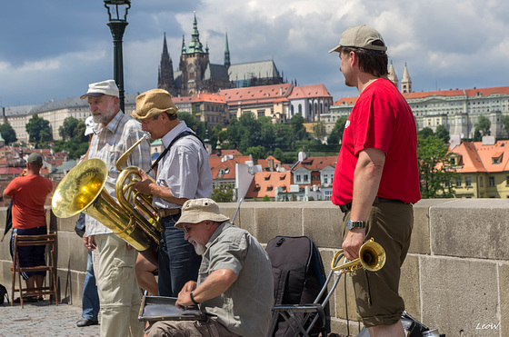 Bridge jazz ++ Brücken Jazz Prag