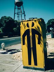 Zipper Man / Hombre Cierre / Homme fermeture éclair