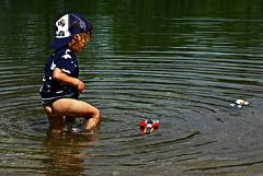 Wasser treten ... nach Kneipp ...