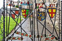 Heraldic fence
