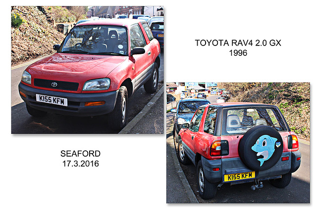 Toyota RAV4 at Seaford - 17.3.2016