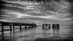 Black and white dawn