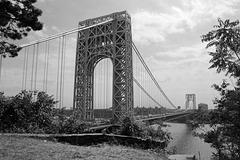 George Washington Bridge (Black and White) (Explored)
