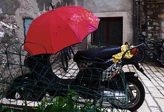 HFF mit Regenwetter