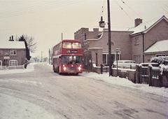 Eastern Counties VR269 (RAH 269W) in Barton Mills – 16 Jan 1985 (5-9)