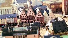 Miniatur-Wunderland in Frankfurt: Der Römer.