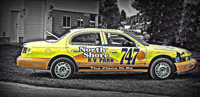 This guy races in Brighton, Ontario.