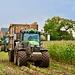 Corn crop harvesting