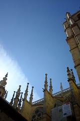 Cathédrale de León, clochetons (Castille-et-León, Espagne)