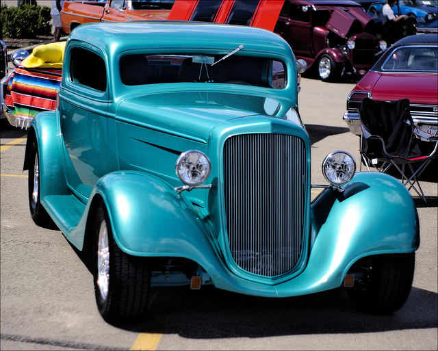 1934 Chevrolet [photo-illustration]