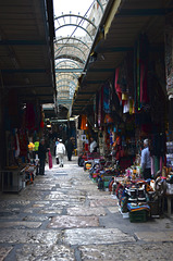 Ha-Notsrim Street in the Old City of Jerusalem