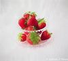 Strawberries on Crystal Still Life Filter Sketch