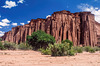 Talampaya Gorge - the wall