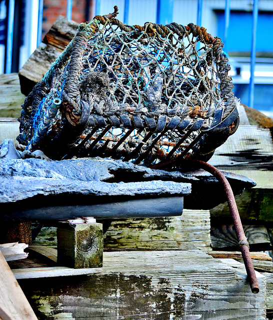 Discarded Lobster Pot