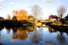 River Lea, Hertford