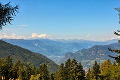 Blick vom Steinegger Höhenweg ins Eisacktal (note)
