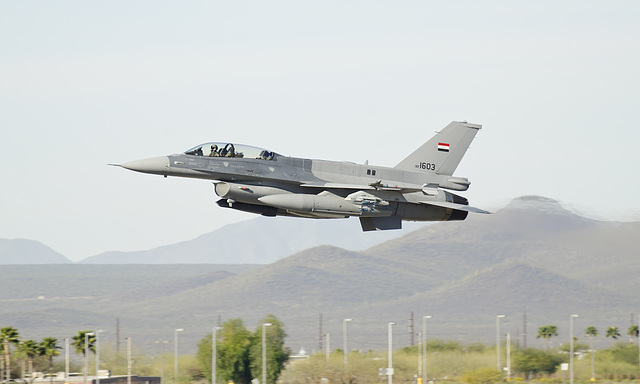 Lockheed Martin F-16D Fighting Falcon 1603 (12-0018)