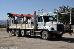 bnsf railroad frtnr 114sd crane trk kingman az 06'16
