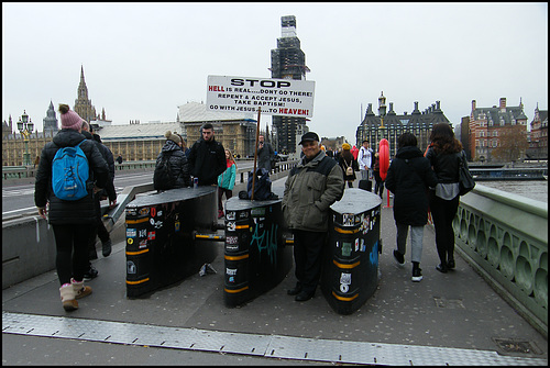 Westminster barriers