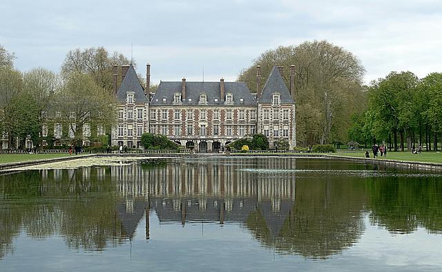 Château de Courances, XVIIe - Le Miroir