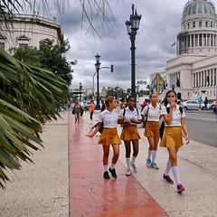 Studentesse cubane