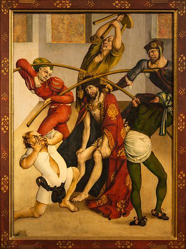 Le Couronnement d'épines, œuvre de Jörg Breu l'Ancien