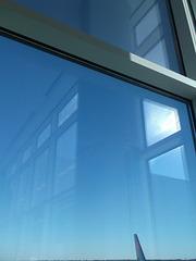 Reflets de fenêtres