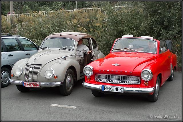 IFA F9 und Wartburg 311