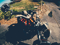 Fisheye Motorcycle