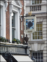 The Clarence pub sign